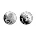 Moneta Pamiątkowa JP2 posrebrzana