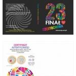 Moneta Wielkiej Orkiestry Świątecznej Pomocy 2015