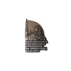 Odznaka VII Ogólnopolska Pielgrzymka Strażaków CENA INTERNETOWA